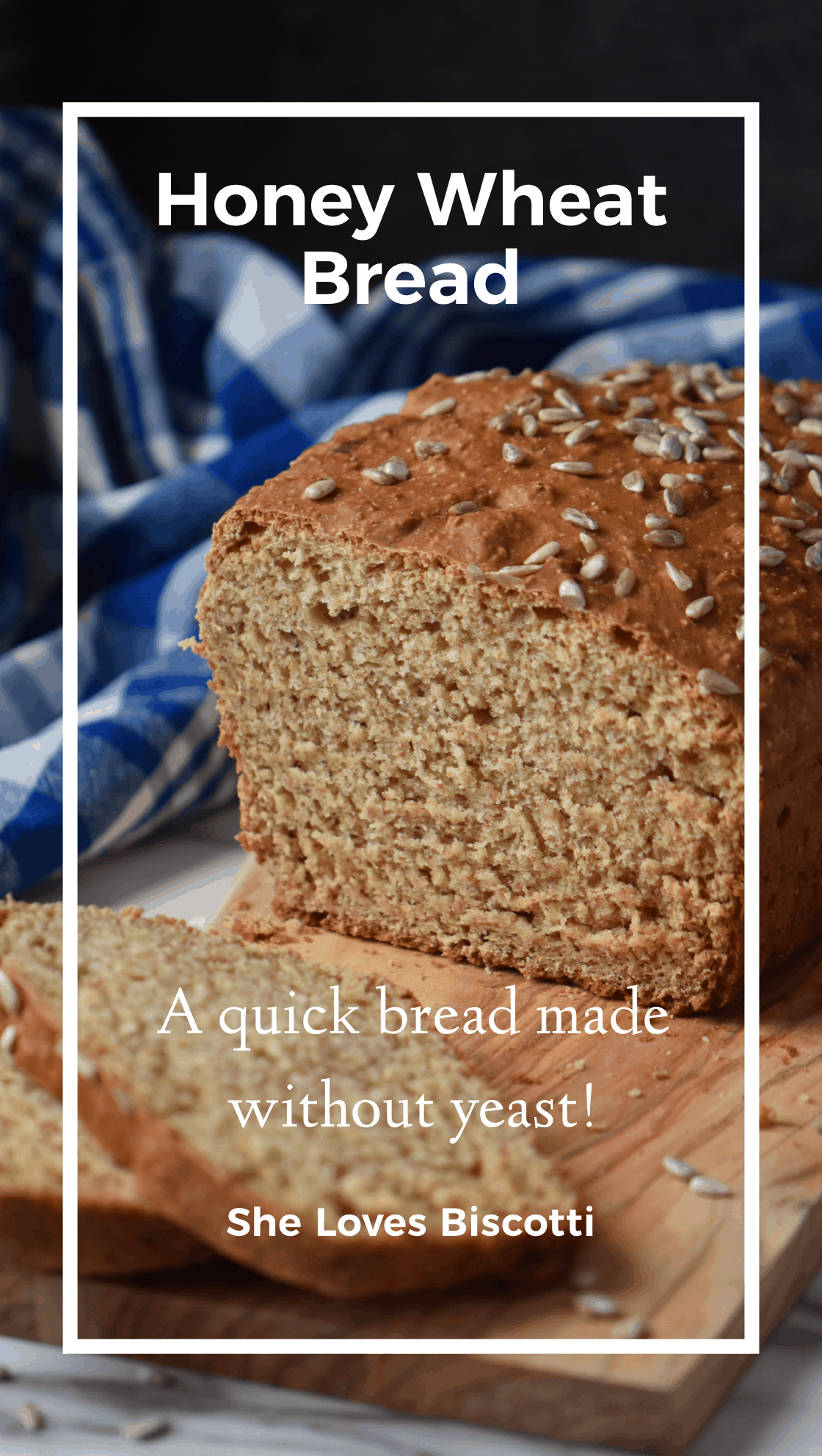 Honey Wheat Bread: only 3 steps required to make this ...
