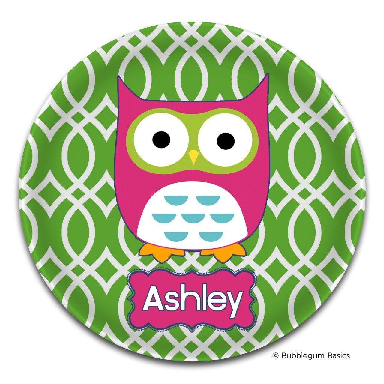 Owl Just For Kids Melamine Plate  sc 1 st  Pinterest & Owl Just For #Kids #Melamine-Plate by Bubblegum Basics™....Our 10 ...