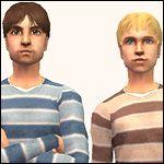 Mod The Sims - Super Cute Stripey Sweaters (9 of 'em)