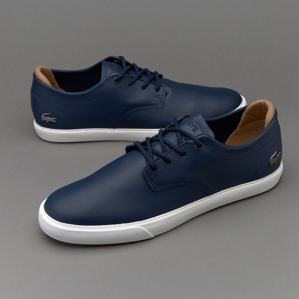 b4b3c2aaf310f Lacoste Espere 117 - Navy   Clothing   Shoes, Gents shoes, Lacoste shoes