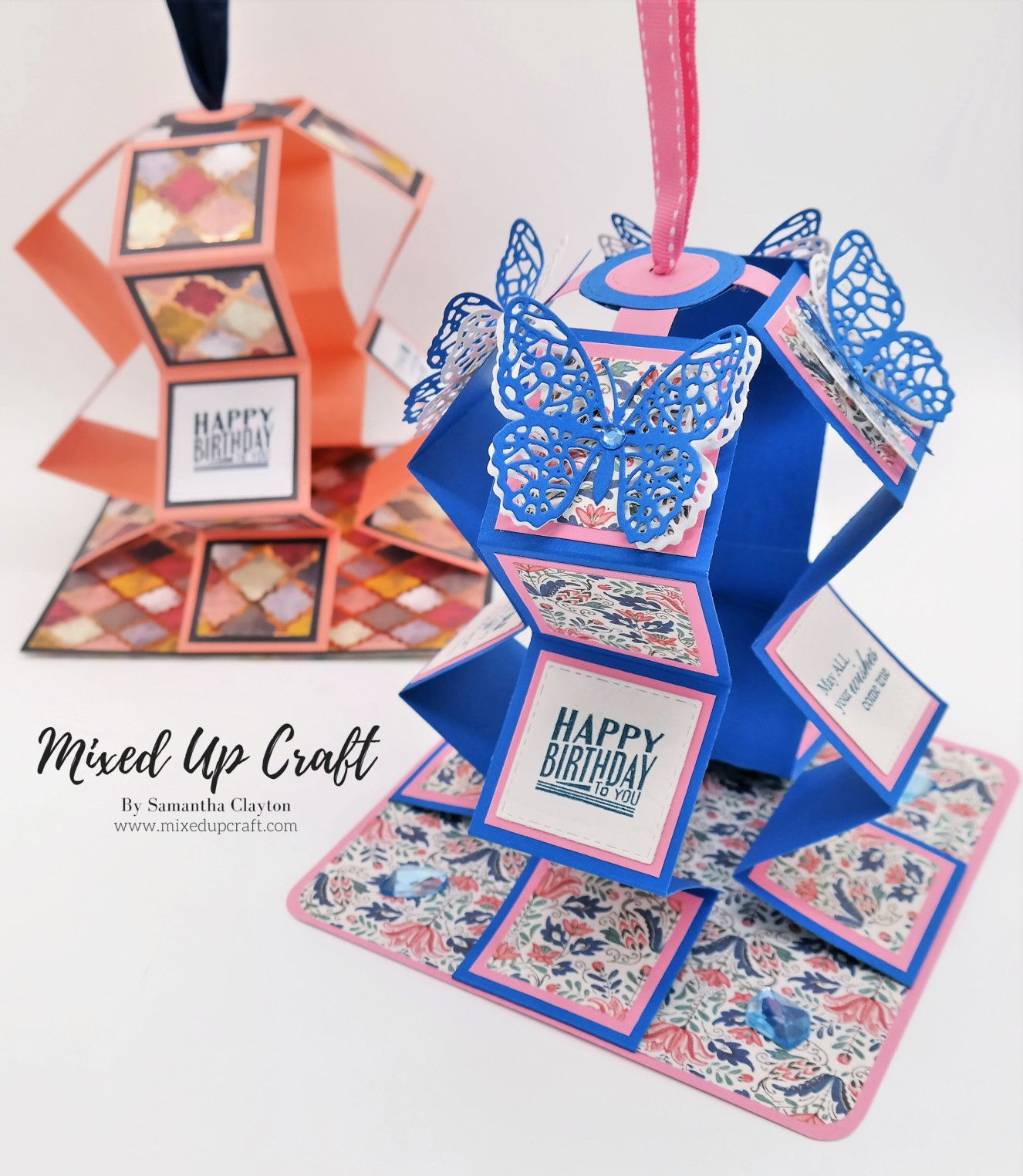 Easy Pull Up Card Birthday Card Pop Up Cards Handmade Fancy