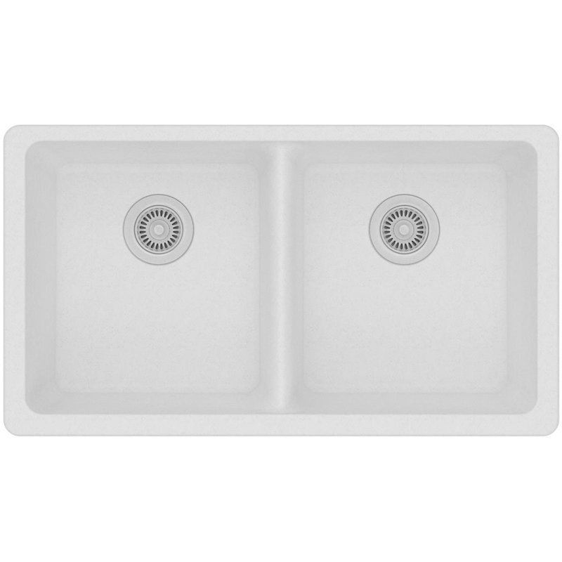 Classic 33 X 19 Double Basin Undermount Kitchen Sink In 2019