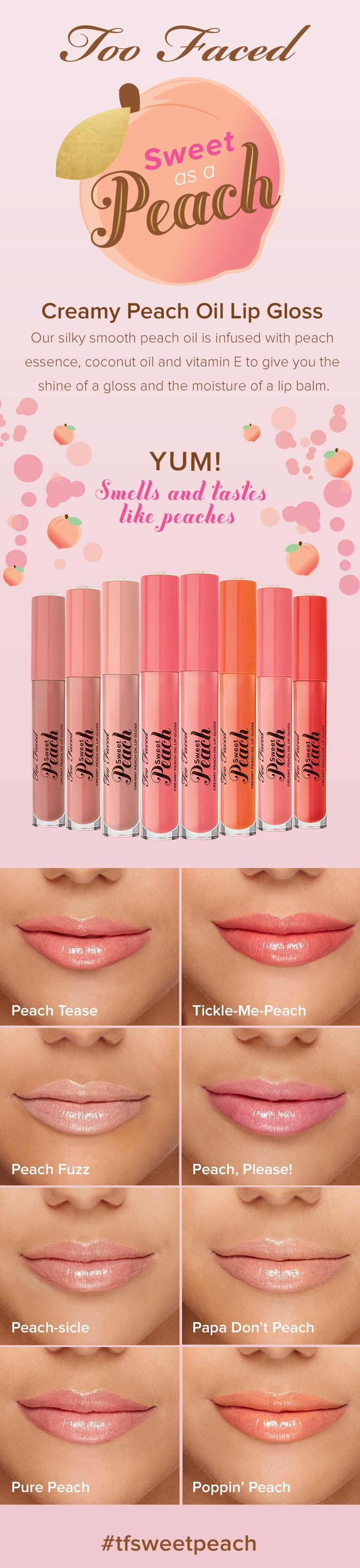 Tickle me peach lipsticks pinterest peach makeup and lips