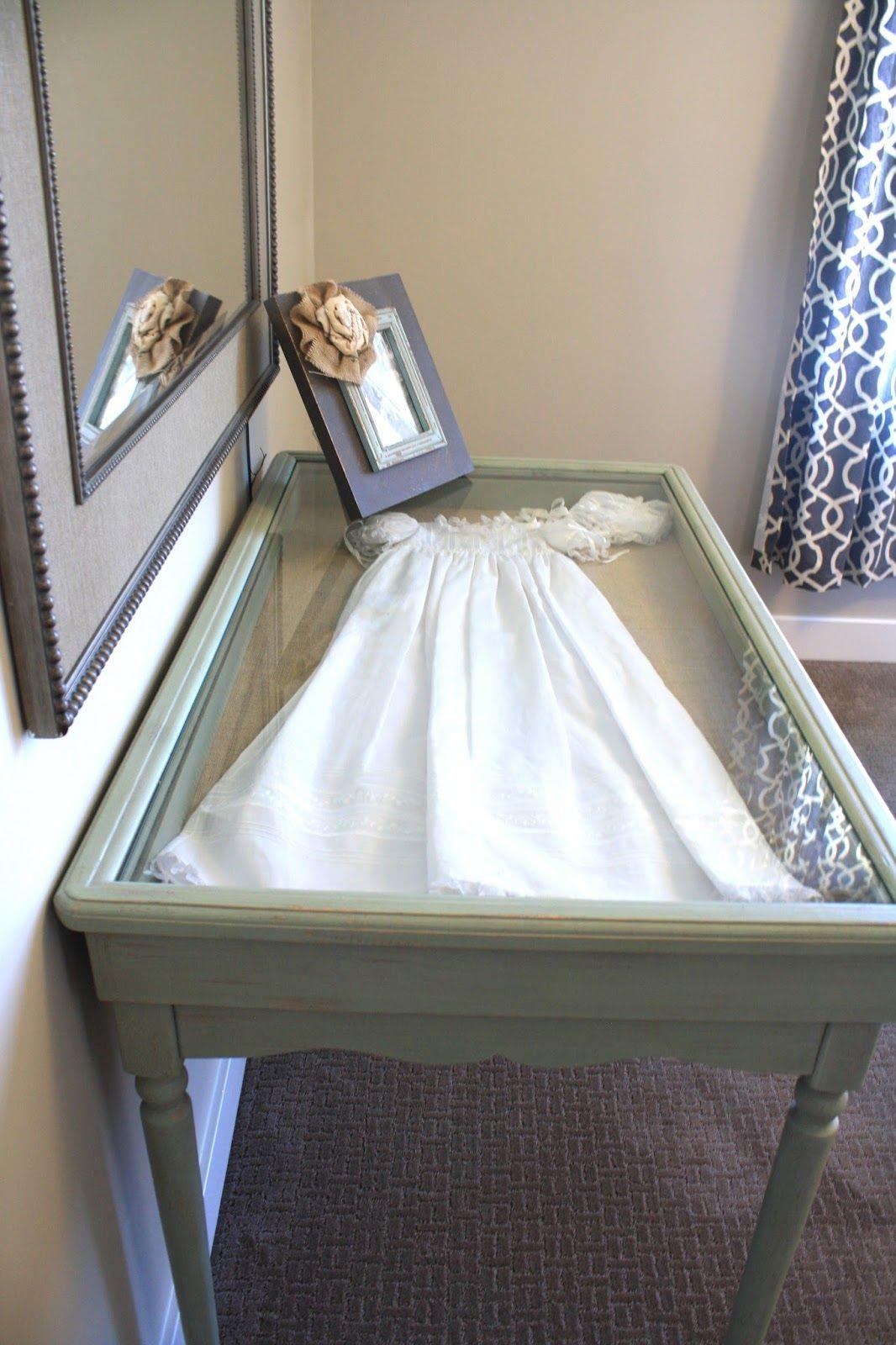 Keepsake under glass Wedding dress shadow box, Wedding