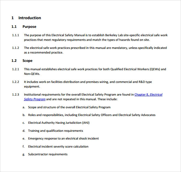 17+ Health And Safety Manual Templates Health and safety