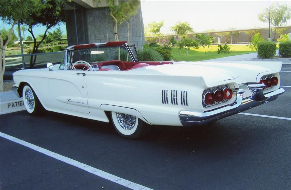 1960 Ford Thunderbird Convertible With Images Ford Thunderbird