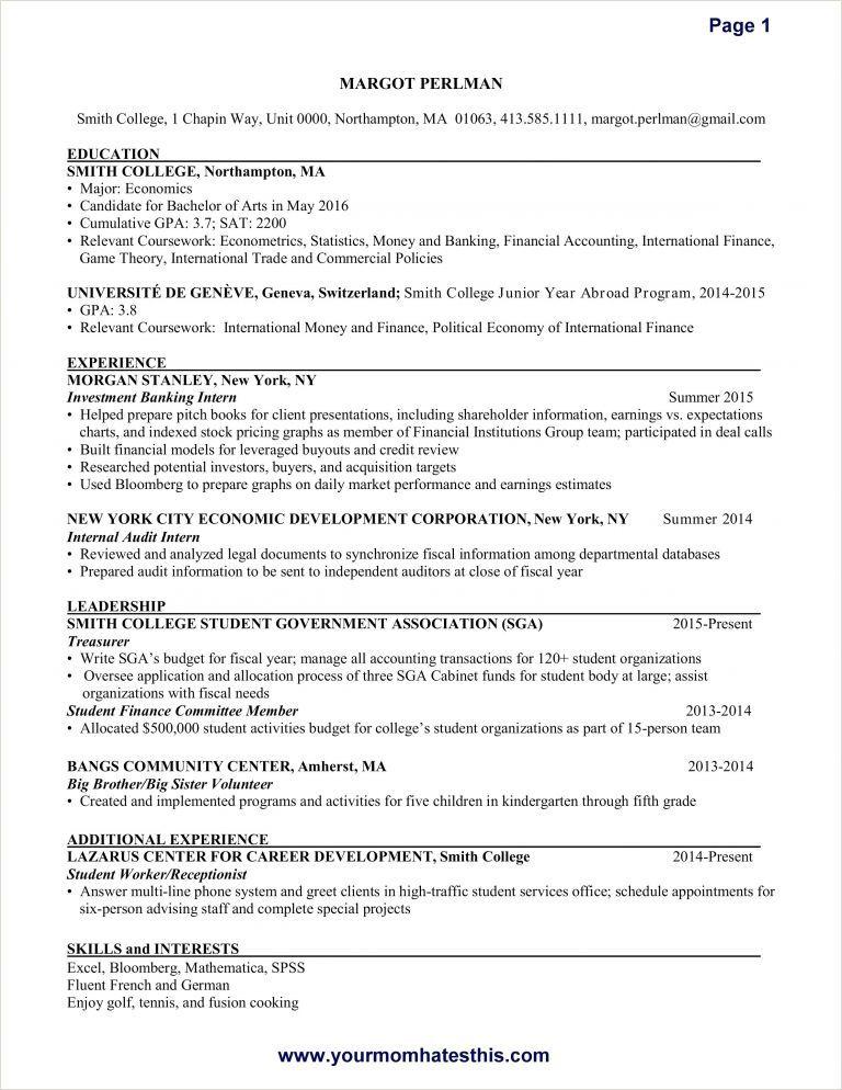Cv Format For Dental Job Myoscommercetemplates Com Resume Examples Internship Resume Resume Skills