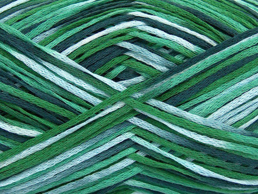 Fettuccia Fine Green Shades at NGS NET Yarn Store