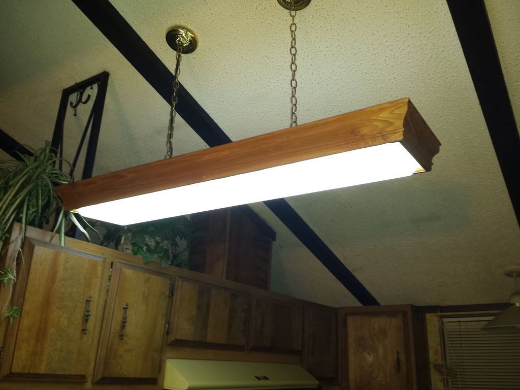 Fluorescent Light Covers For Kitchen Are Not Only Unattractive But Also Rough And Noisy Choose A Color That Matches Or Complements The Decor Of Your Kitchen