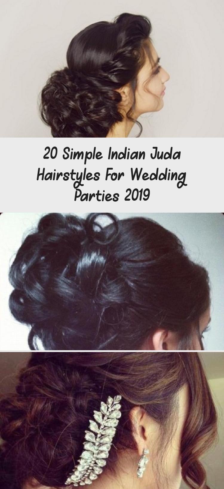 20 einfache indische juda frisuren für hochzeitsfeiern 2019