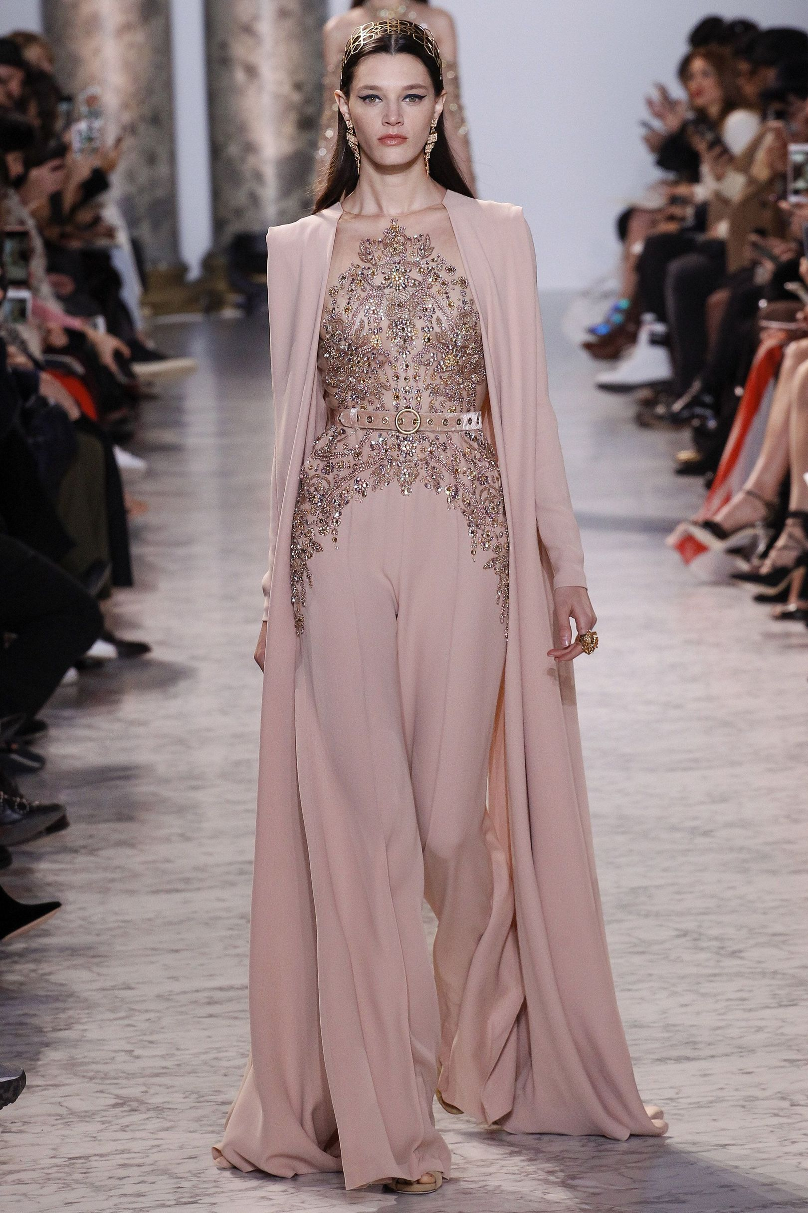 2144cdff4a8 Best cape and pantsuit ever - Elie Saab Spring Summer 2017 couture ...