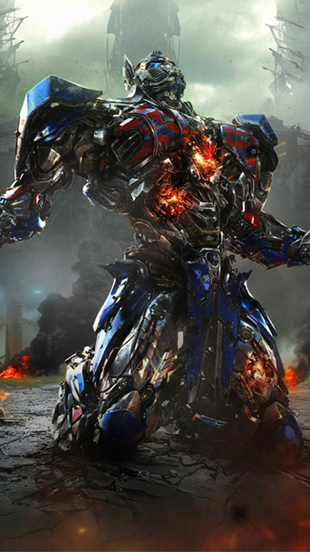 Movies iPhone 6 Plus Wallpapers Transformers Optimus