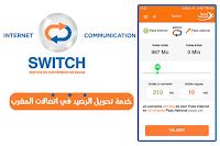 تحويل رصيد المكالمات الى انترنت اتصالات المغرب Switch Maroc Telecom Switch Pie Chart Person