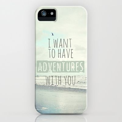 I want to have adventures with you iPhone Case by Sylvia Cook Photography - $35.00