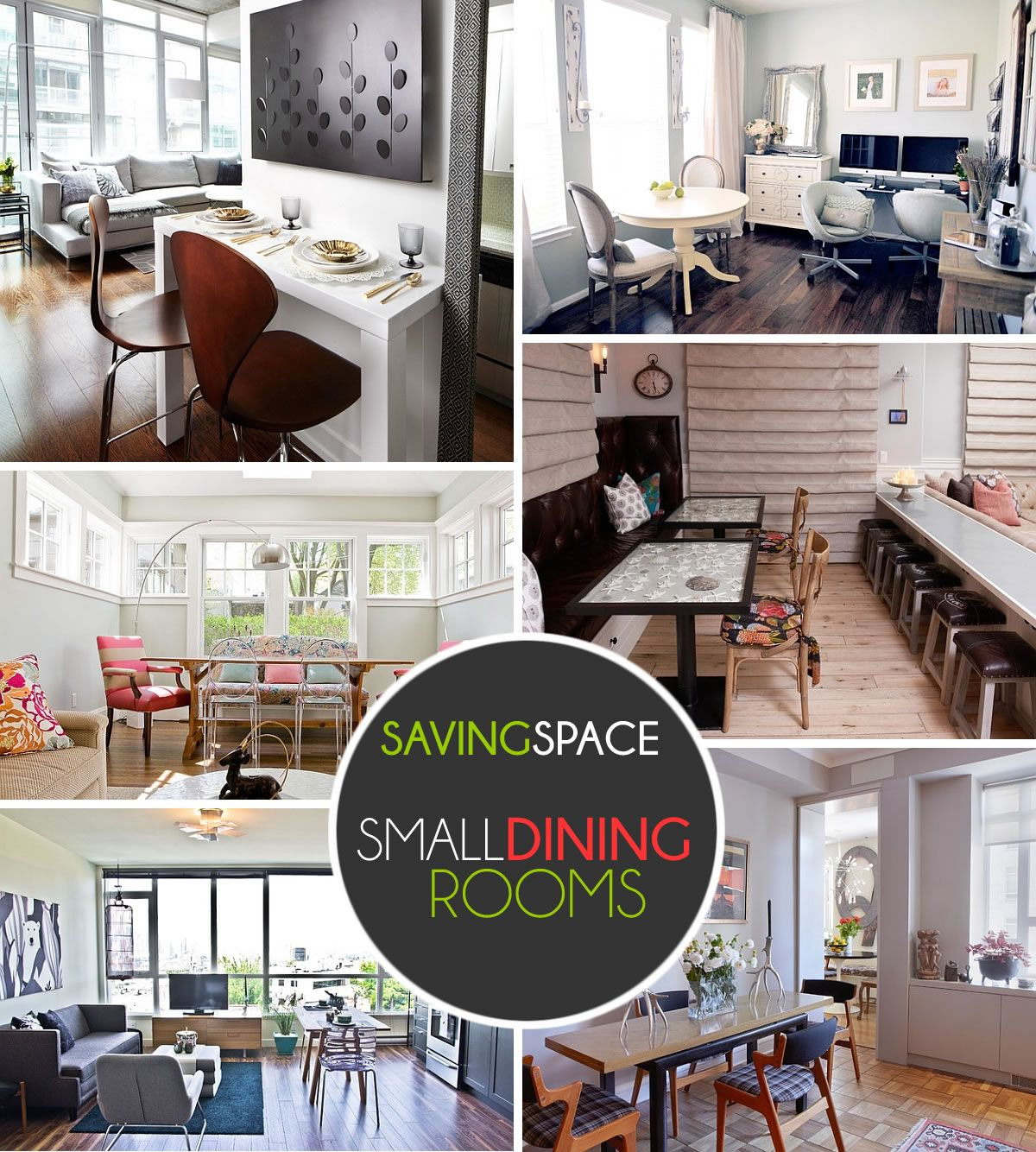 Pin By Decorating Small Spaces On Small Dining Room Ideas