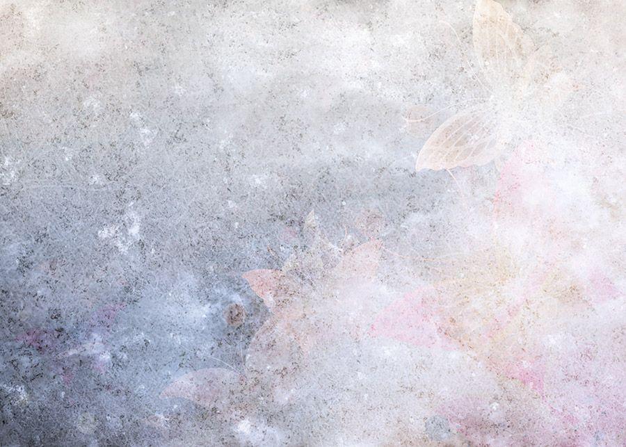 Carta Da Parati Damascata Rosa : Carta da parati fairiestenue rosa azzzurro geco wallpaper more