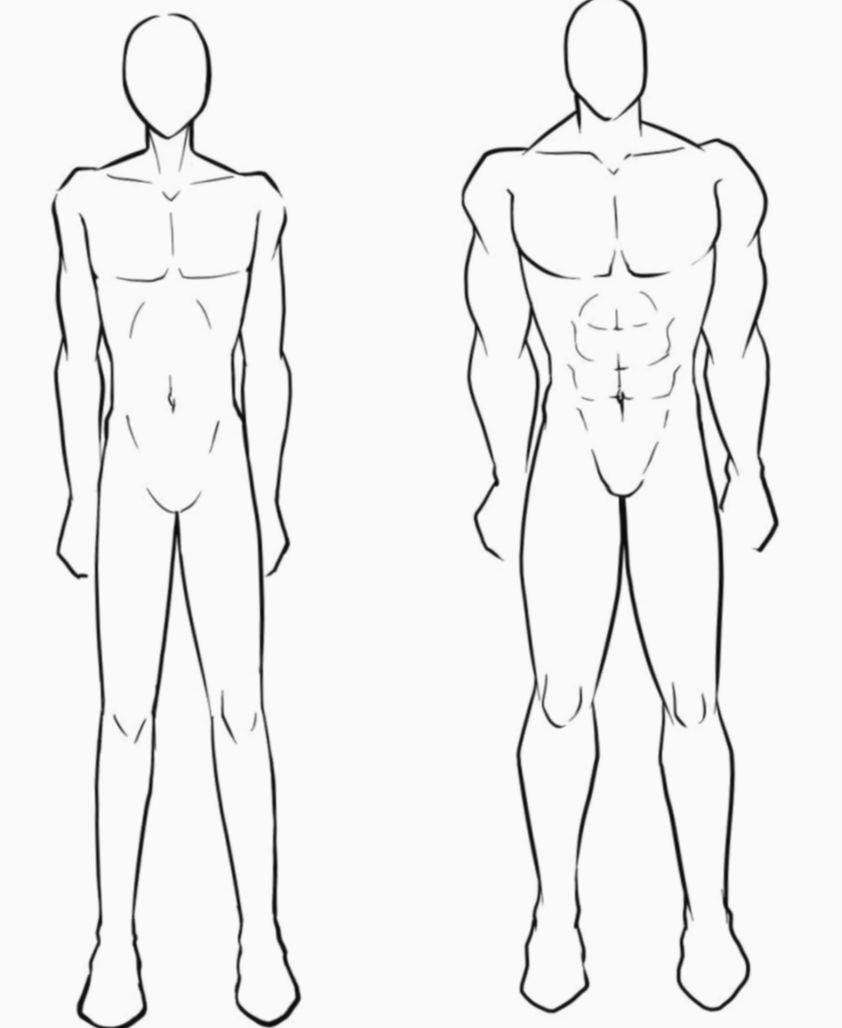 8 Anime Guys Drawing Muscular Corpo Masculino Tutorial De Manga Croqui Masculino