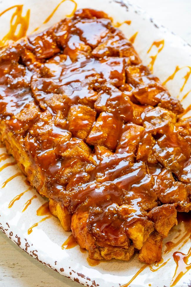 Photo of Overnight Caramel French Toast Casserole  EASY soft tender and decadent Fren
