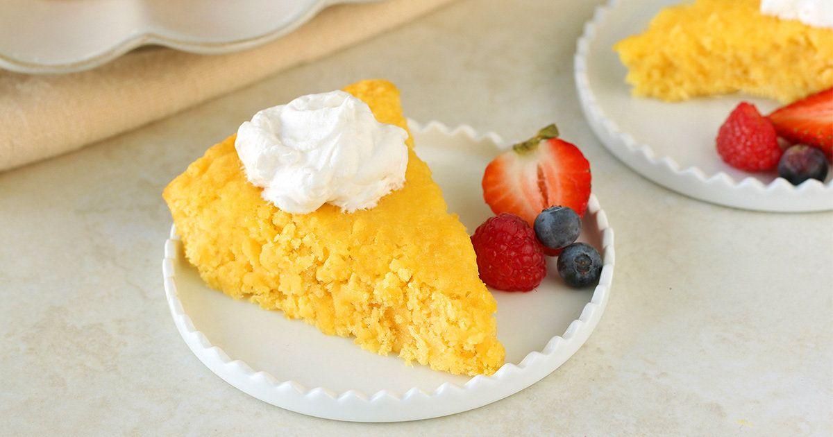 Lowcalorie 2ingredient pineapple cake recipe cake