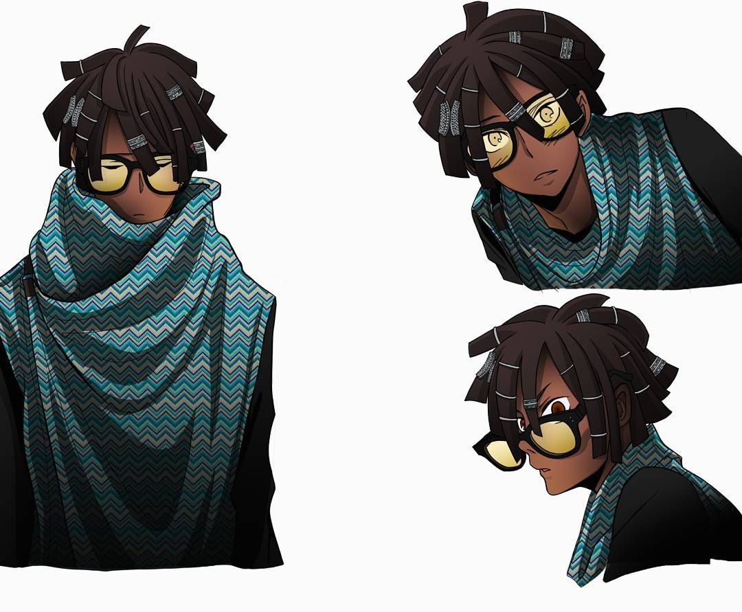 Black anime characters fantasy characters character concept character art character inspiration