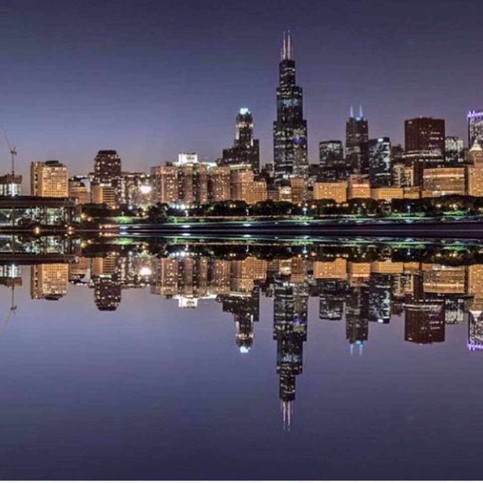 Chicago Skyline Chicago Skyline Photos Pinterest Chicago