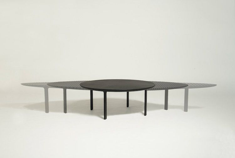 Ausziehbarer Tisch  - designer mobel konzept