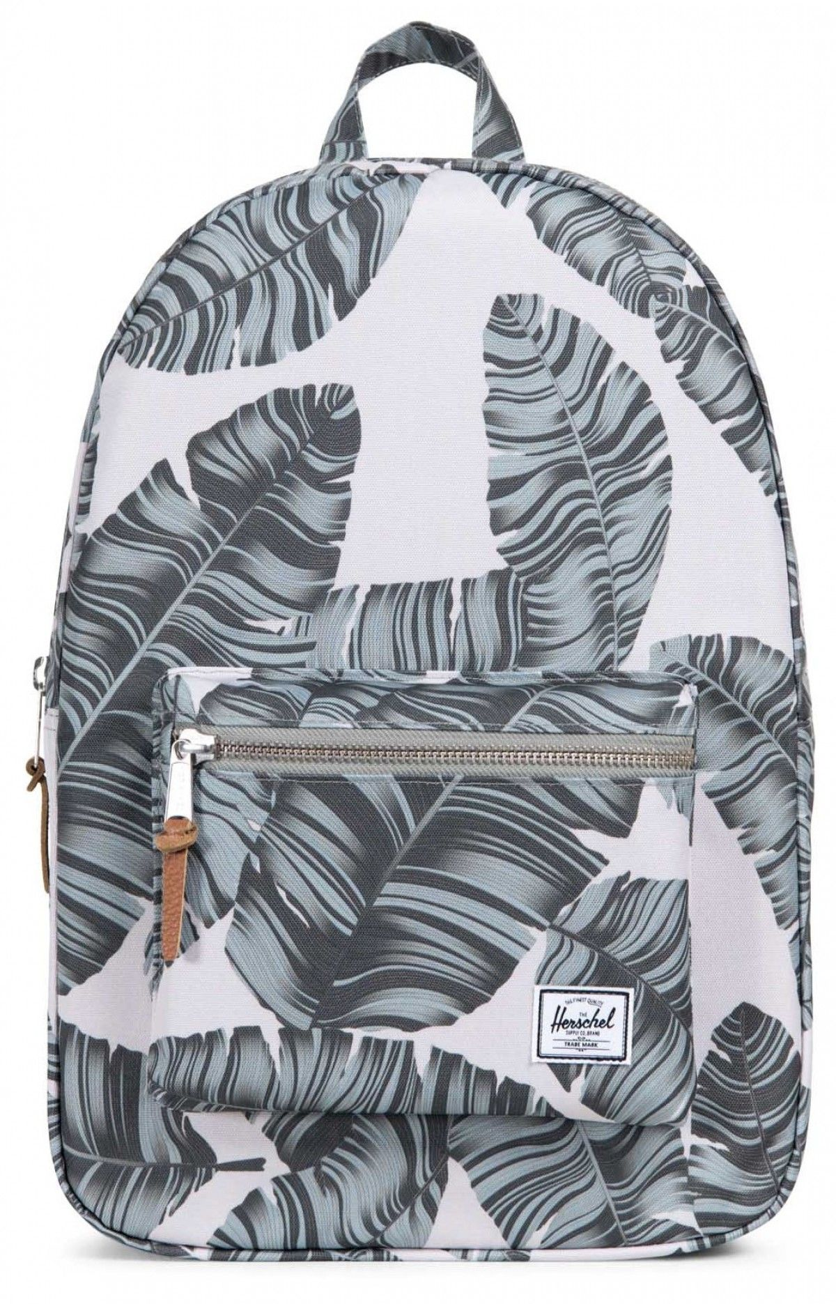 9cd568720a4 Herschel Settlement Back pack 600D Poly Silver Birch Palm