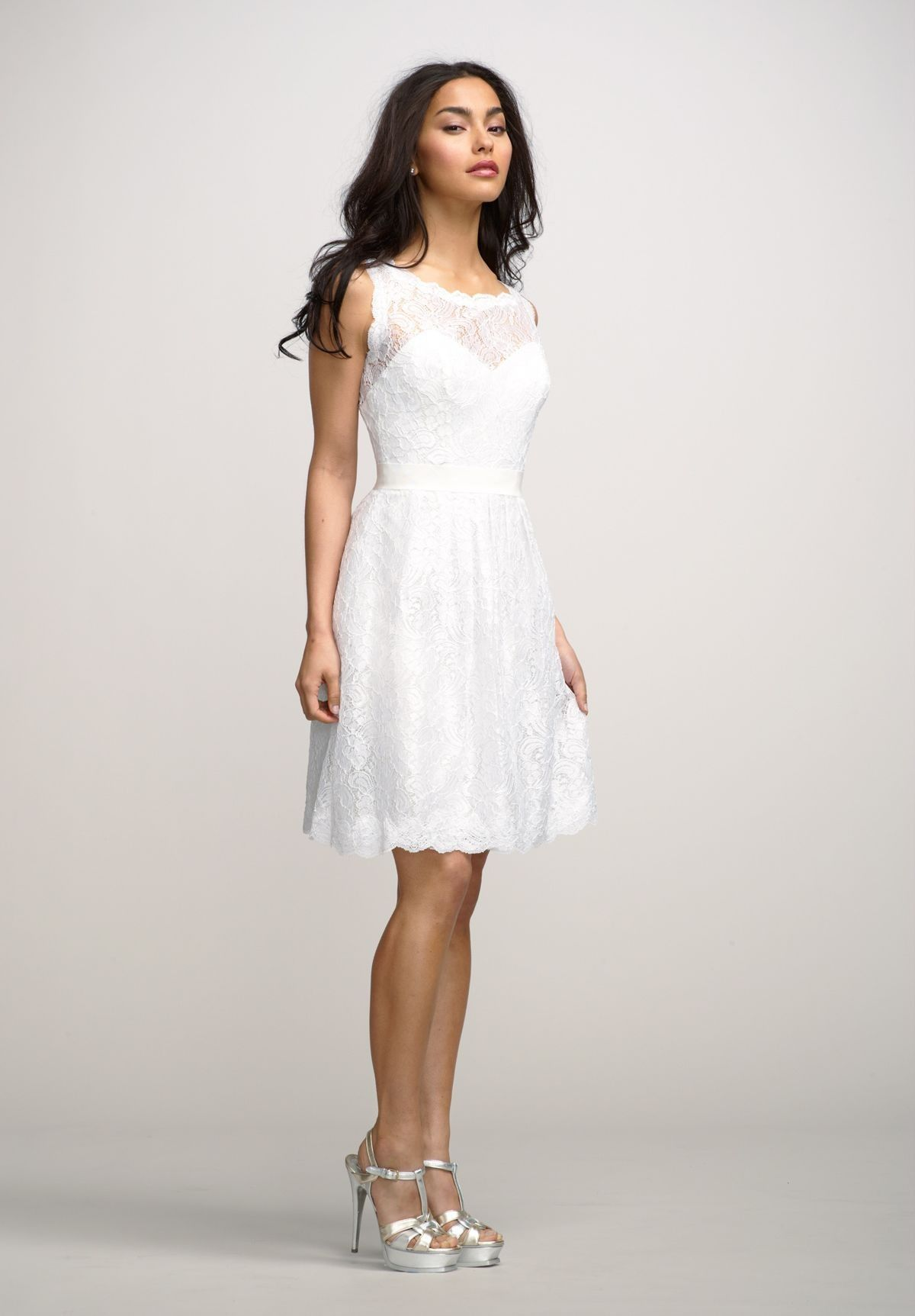 Wedding Party Dresses Without Sleeve | Party Dresses | Pinterest ...