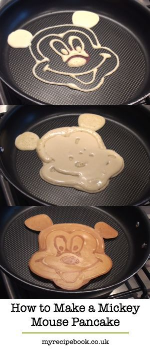 How to make a mickey mouse pancake bridge bottle and pancakes if you believe i can draw that well with a squirt bottle i have a ccuart Images