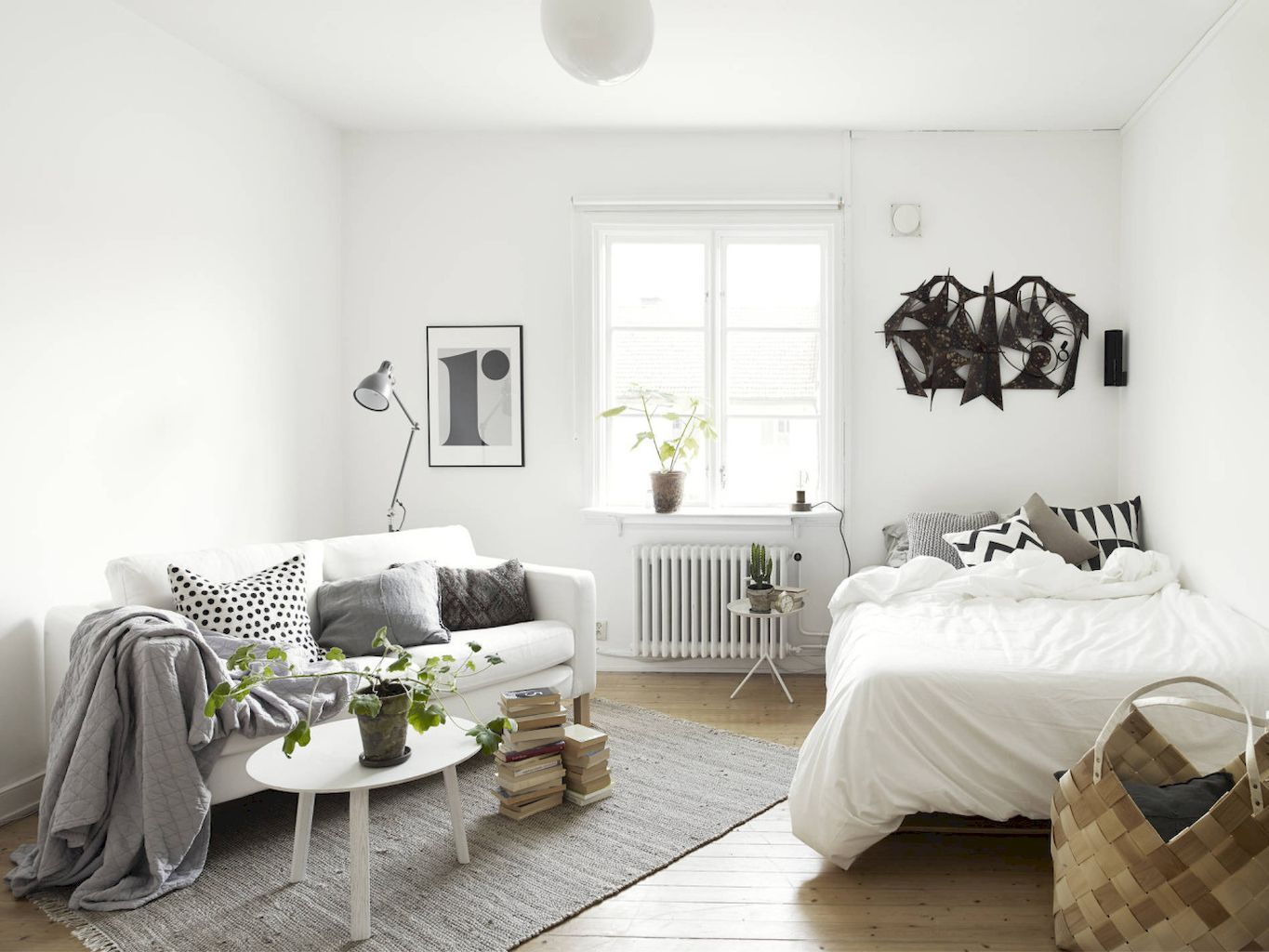 Pin by Amy Hope on Small Spaces Studio apartment