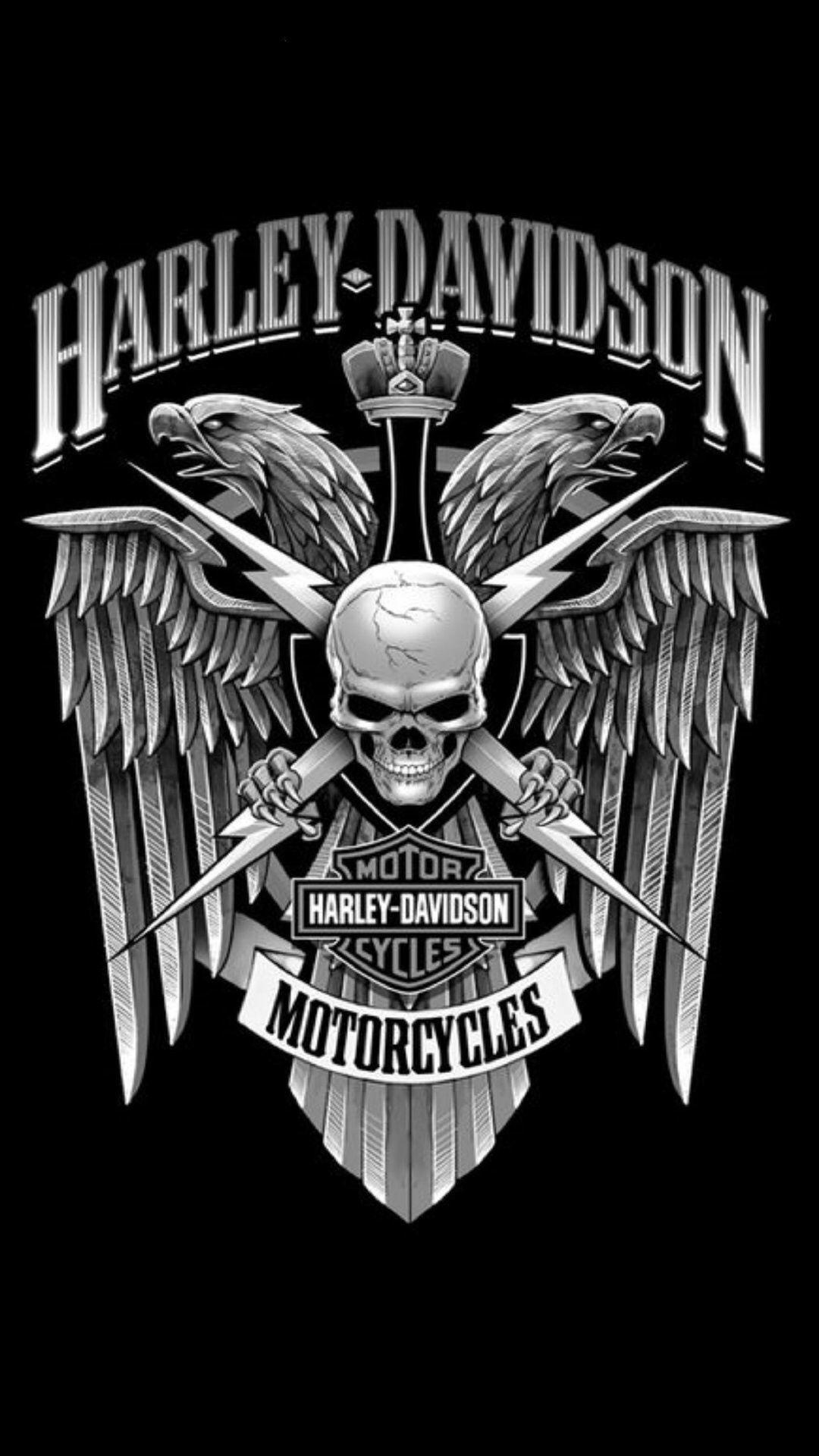 Awesome Harley Davidson Iphone Wallpaper Planos De Fundo Fundos