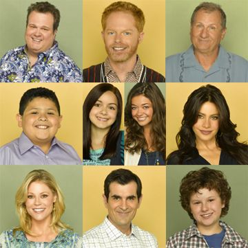 The cast of Modern Family because they are all so funny.