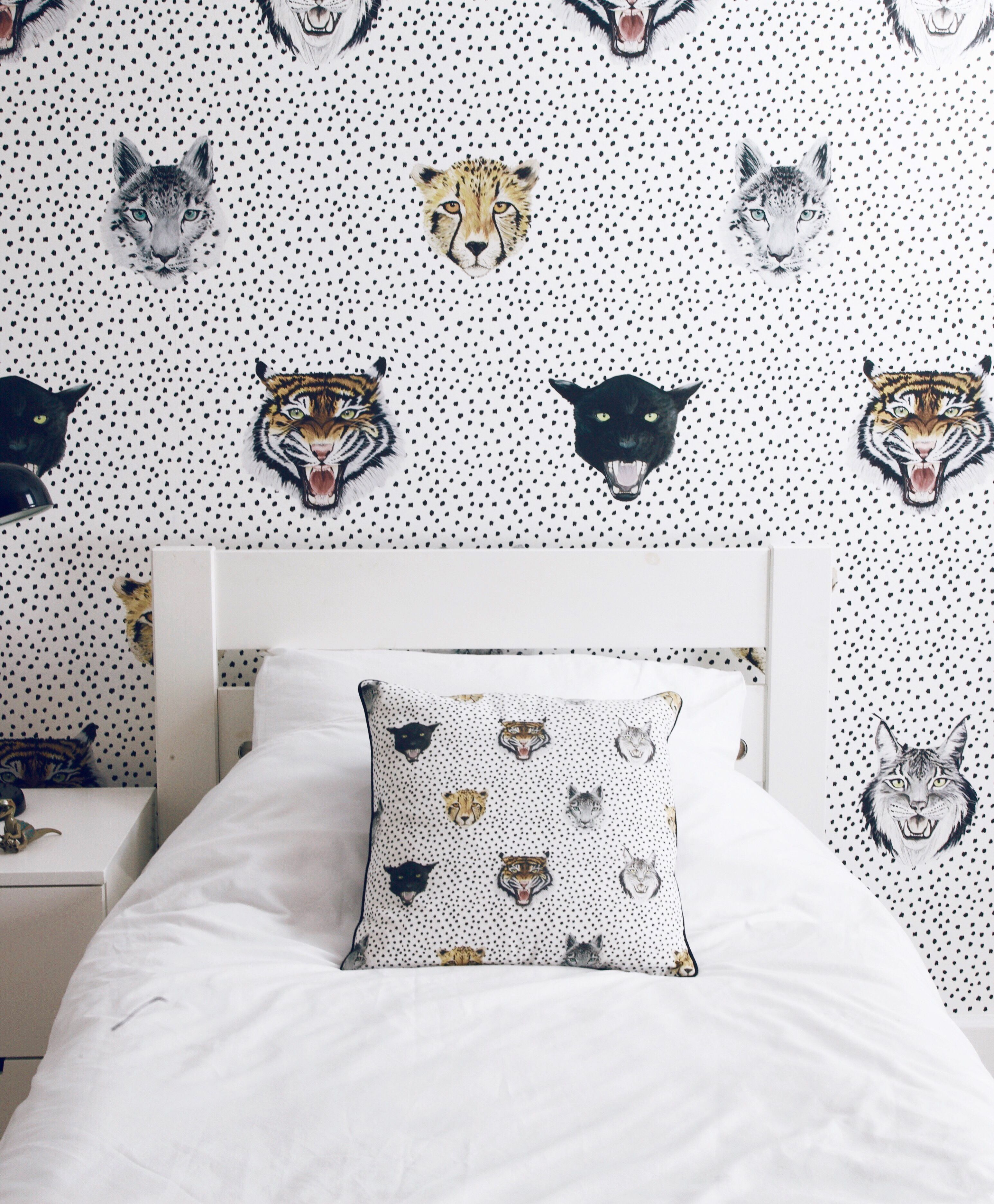 Wildcats Wallpaper Large Scale Sample Kids Bedroom Decor Bedroom Decor Kids Bedroom