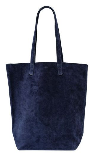 fe9018ee3e BAGGU Basic Tote in Midnight Suede | Sew totes and bags in 2019 ...