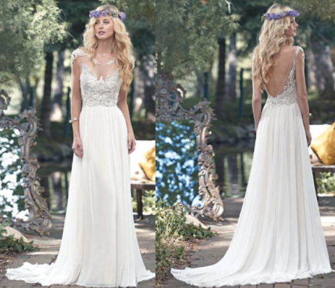 Wedding dresses in Coachella