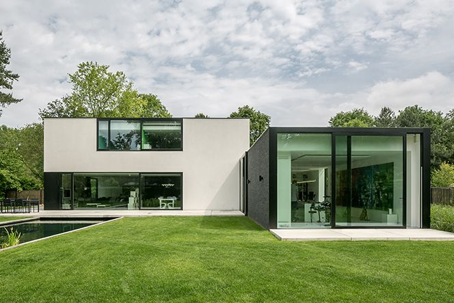 Moderne stijl huis in 2018 pinterest modern architectuur en