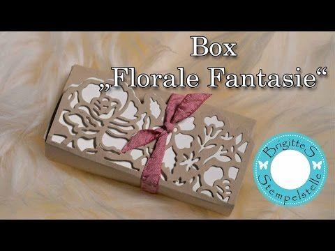 """Box """"Florale Fantasie"""" mit Anleitung - Brigittes Stempelstelle Alles rund ums Basteln mit Stampin Up Produkten"""