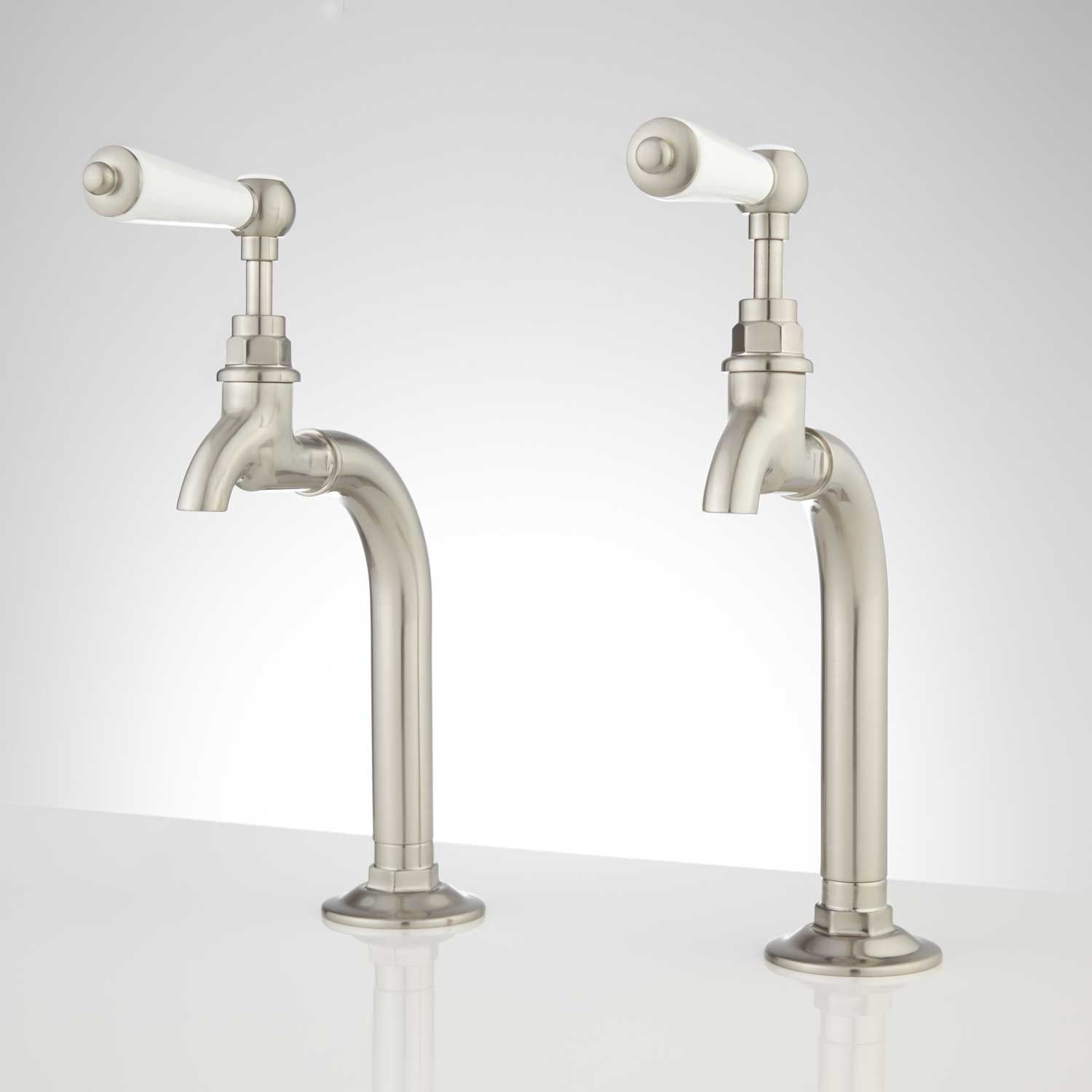 Rogers+Kitchen+Basin+Faucet+with+Porcelain+Lever+Handles. These ...