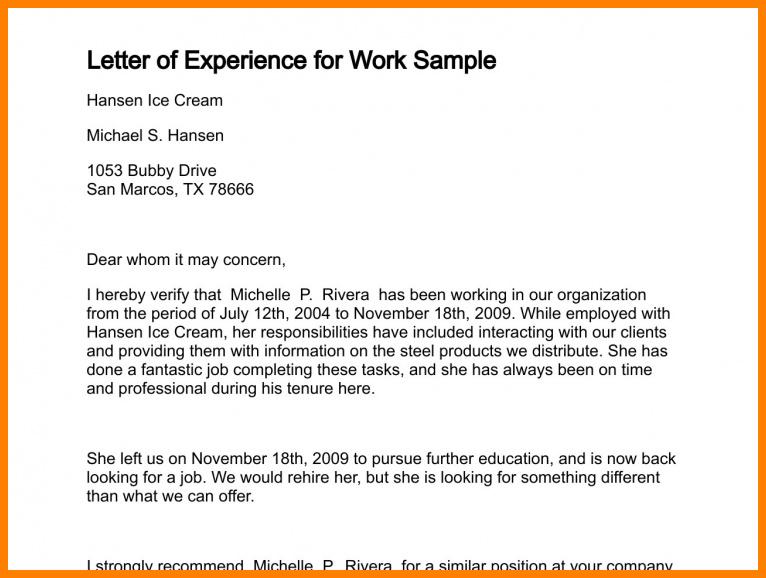 Experience certificate format destop pinterest letter sample experience certificate format yadclub Choice Image
