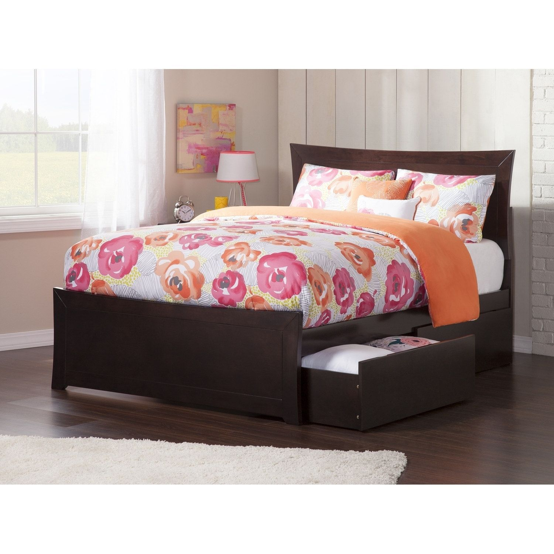 Best Metro Queen Platform Platform Bed With Matching Foot Board 400 x 300
