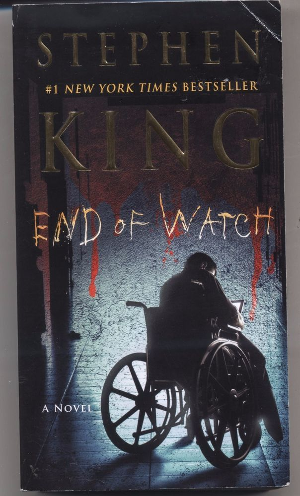 End Of Watch By Stephen King Bill Hodges Trilogy Book 3 Paperback Free Ship Pocketbooks Stephen King Books Stephen King Books List Stephen King