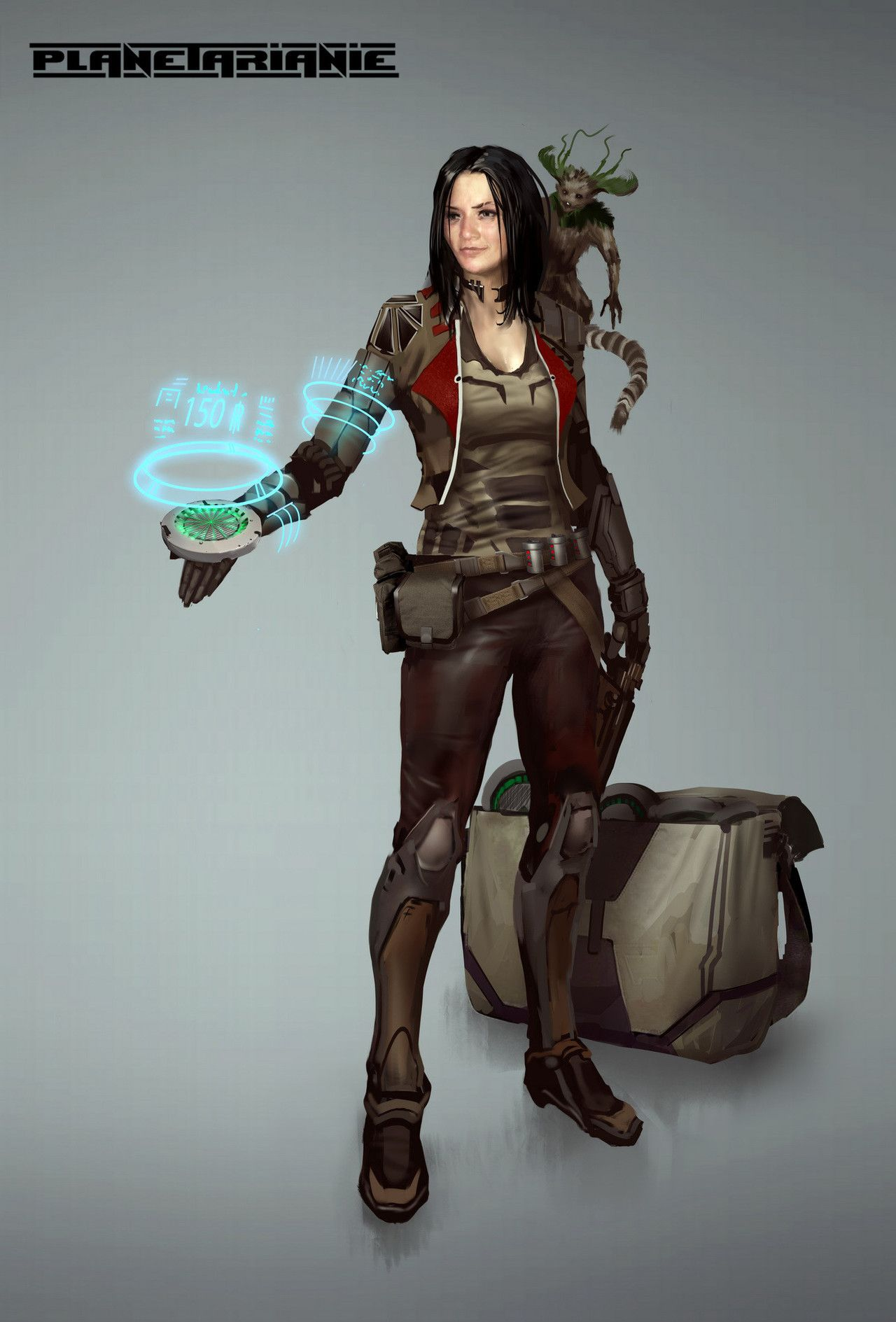 Immortalism and Sci fi Characters by