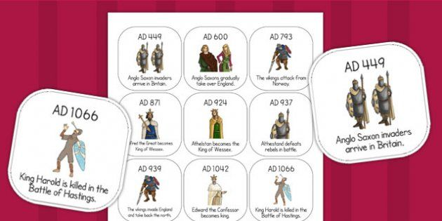 Anglo saxons timeline ordering activity history story of the anglo saxons timeline ordering activity ibookread Download