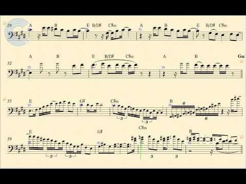 Cello Santeria Sublime Sheet Music Chords And Vocals