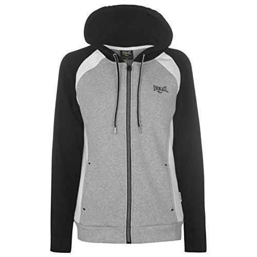 Everlast Femmes Cs Fz Sweat À Capuche Sweater Sport Casual Top De Survêtment 470b87f1ed4