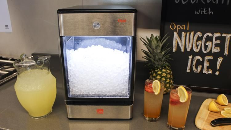 The Opal Nugget Ice Machine Produces Its First Nuggets Of Ice Within 15  Minutes.