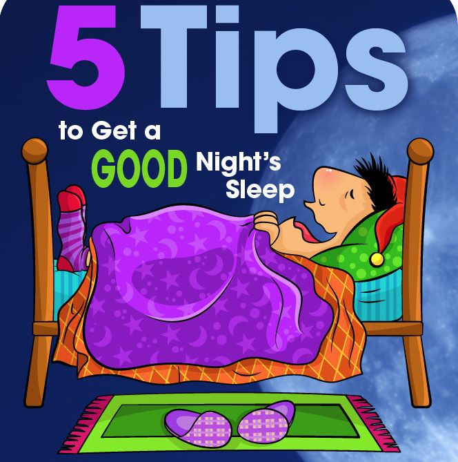 Lifestyle Lift 5 Tips to Get a Good Night's Sleep [INFOGRAPHIC]