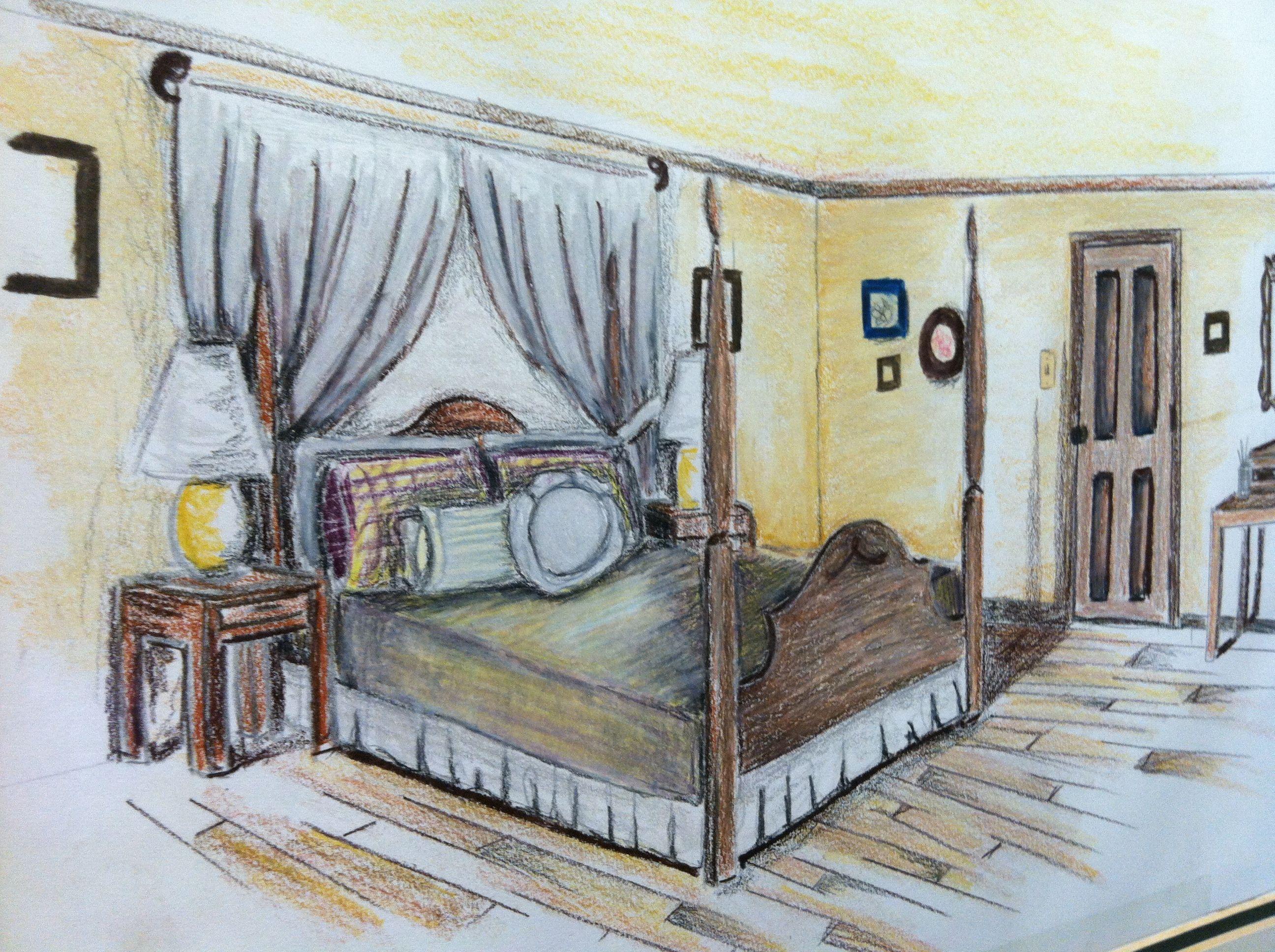 Interior Design Presentation Drawing