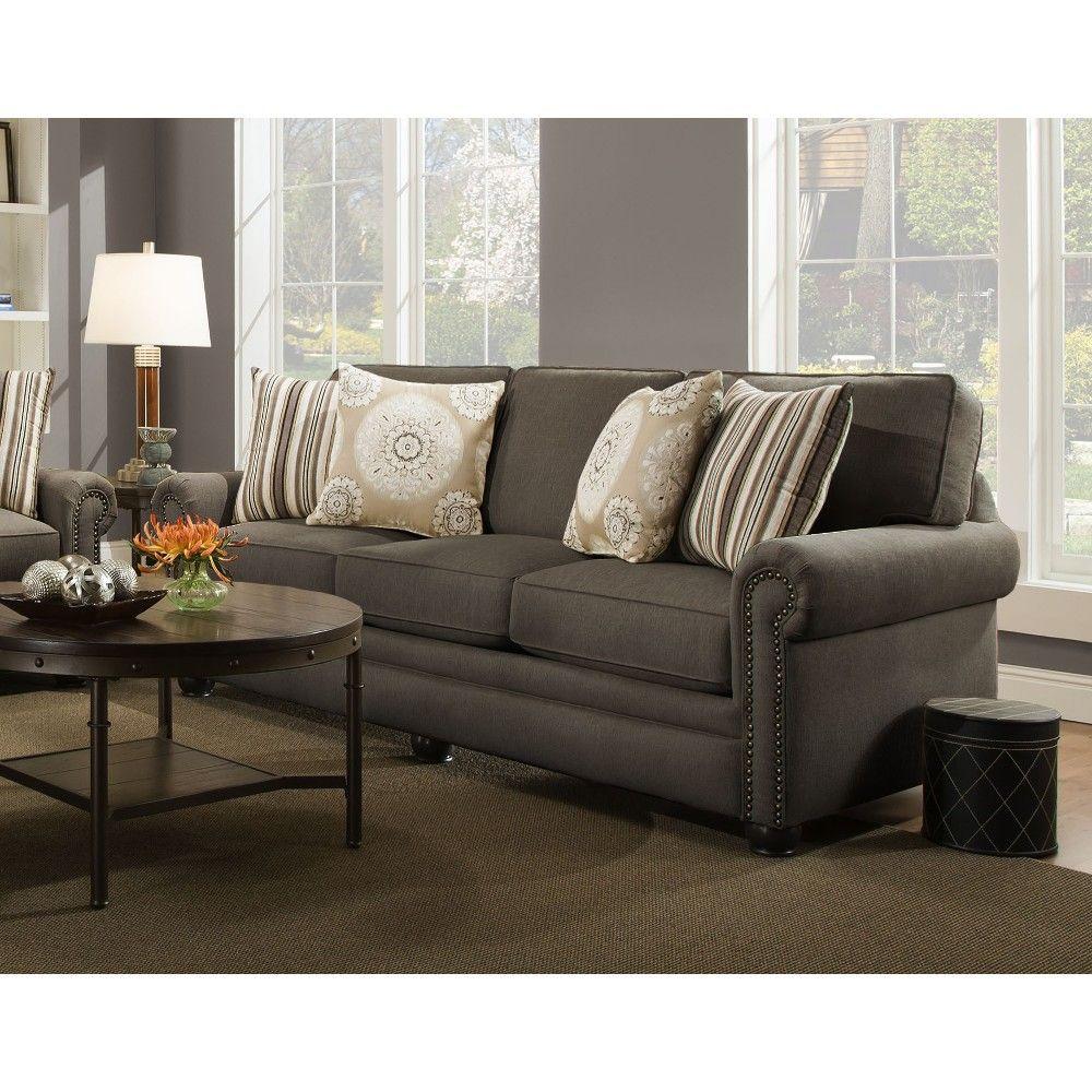 Swan Living Room Sofa Loveseat Dark Stone 97b Sofa Living Room Living Room Furniture
