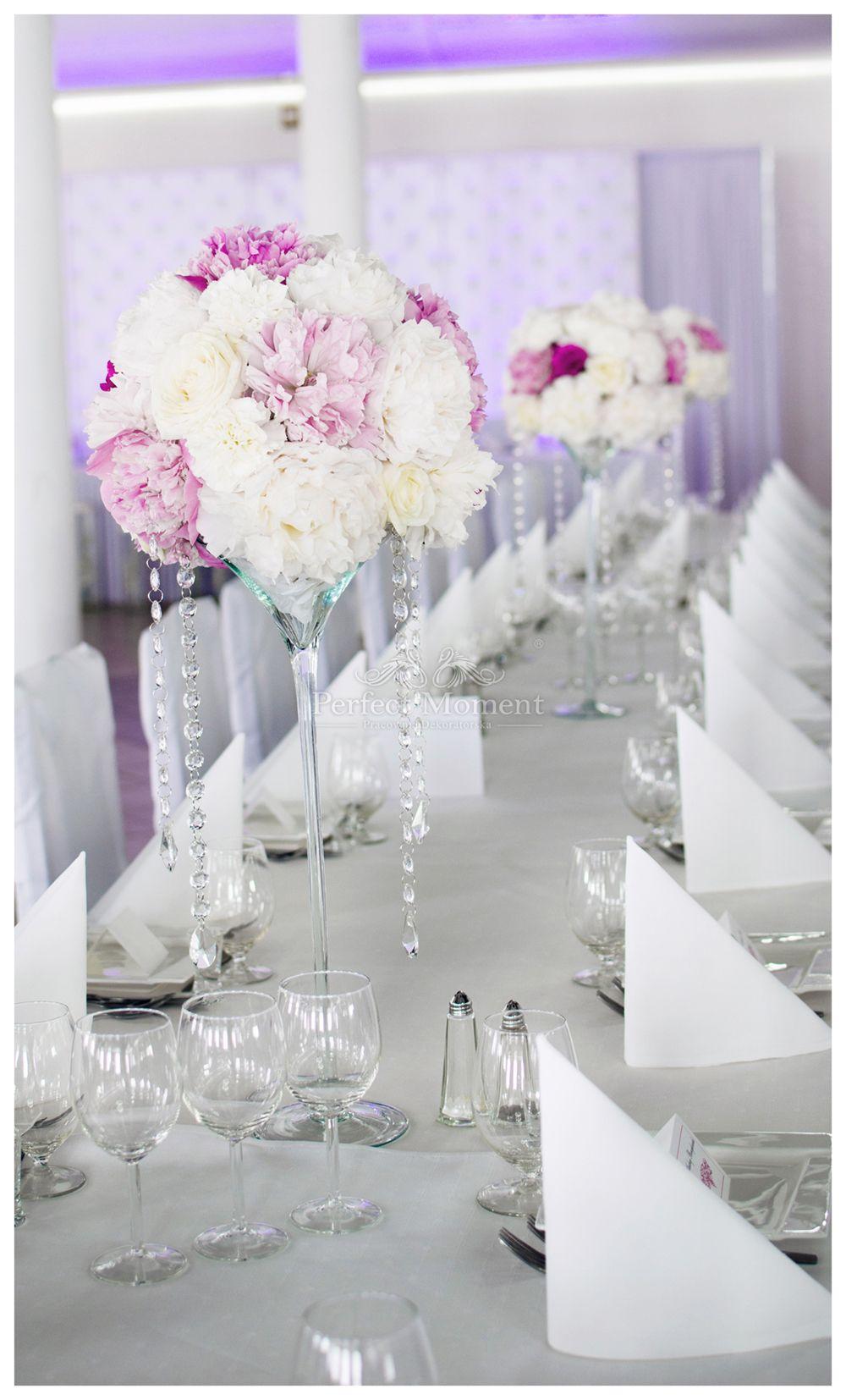 Dekoracja Stolu Gosci Miejsce U Wielgolaskich Realizacja Https Www Facebook Com Dekoracje Perfec Floral Wedding Bridal Decorations Wedding Decorations